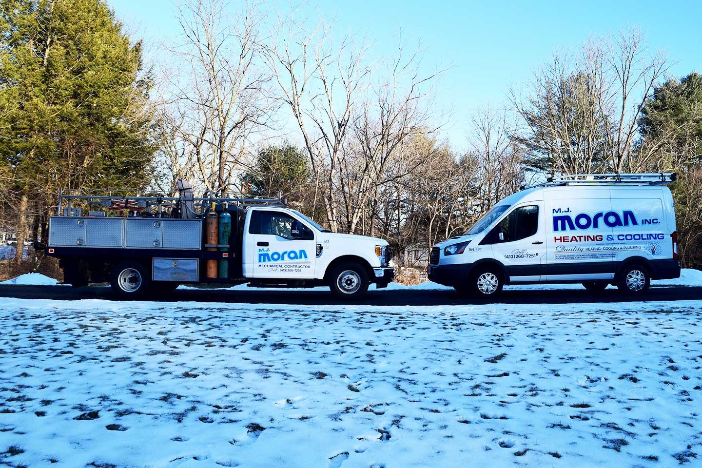 M.J. Moran, Inc., Heating + Cooling