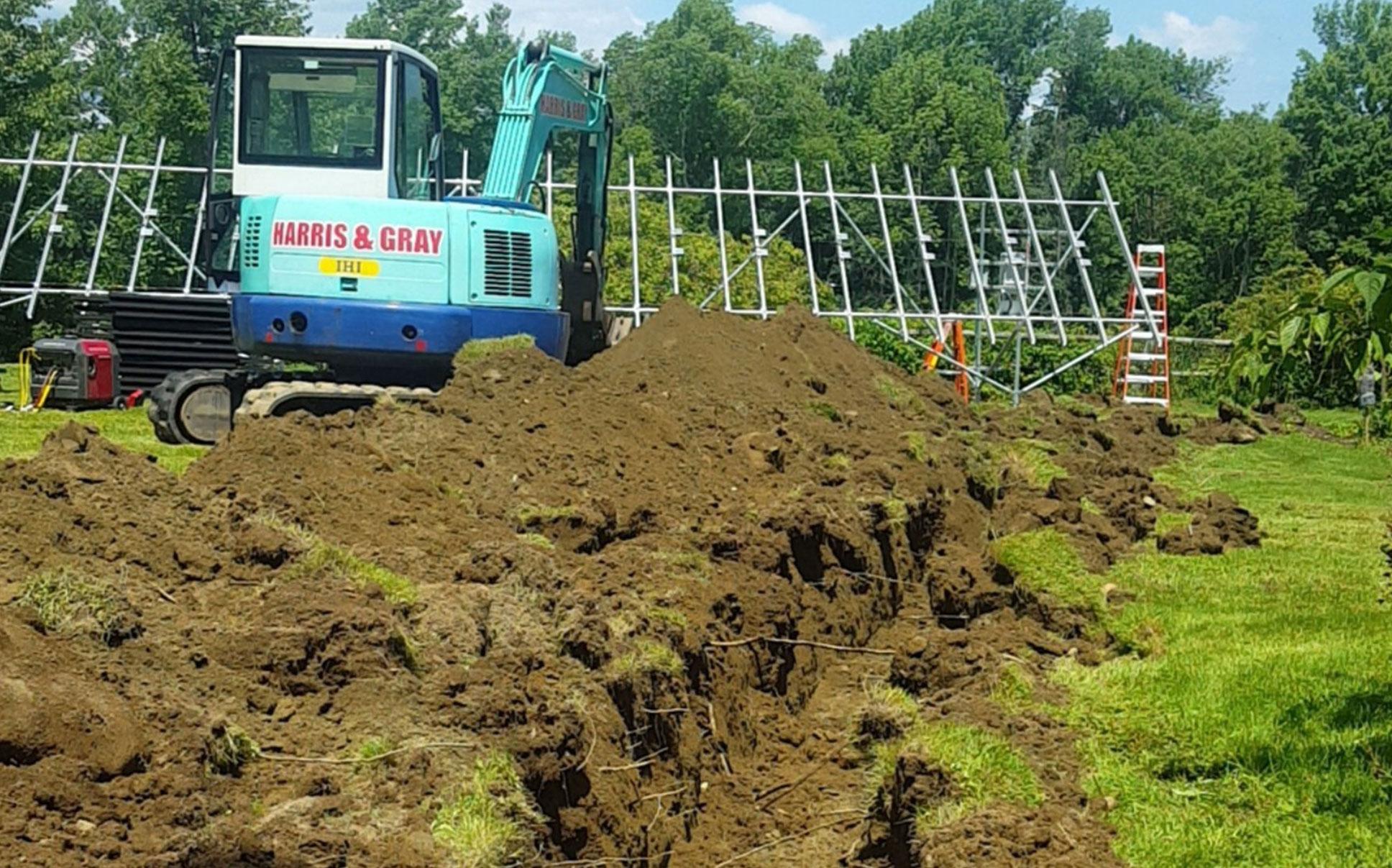 Harris & Gray Excavating & Concrete Contractors